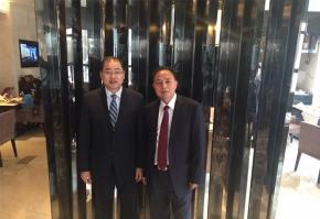与中山樱雪电器董事长李荣坤先生