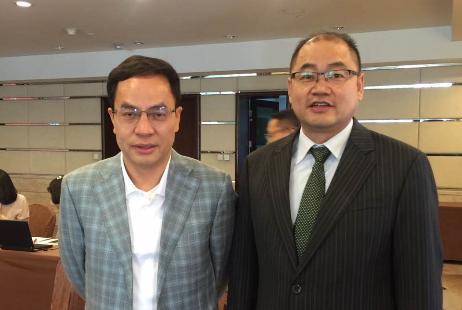与汉能集团董事局主席李河君先生